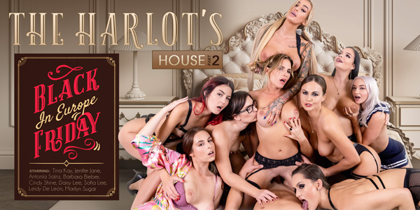 The Harlot's House: Black Friday in Europe Part 2 VR Porn Video