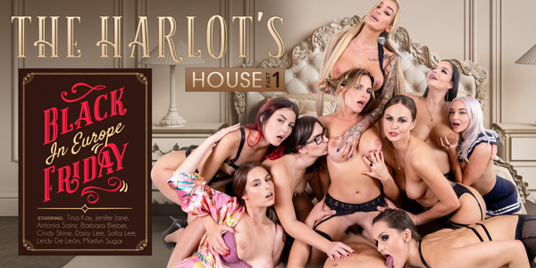 The Harlot's House: Black Friday in Europe Part 1 VR Porn Video